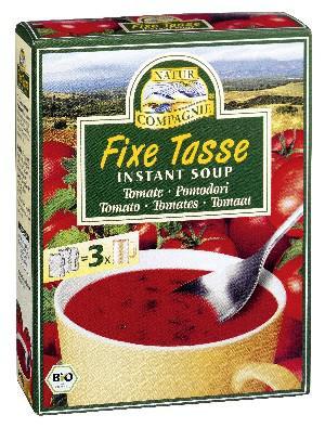 Natur Compagnie instant soup tomaten 3 stuks 3 STUKS