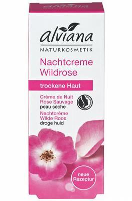 Alviana Nachtcreme Wilde Roos 30ml