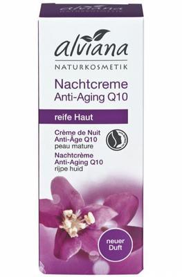 Alviana Nachtcreme Anti Age Q10 30ml