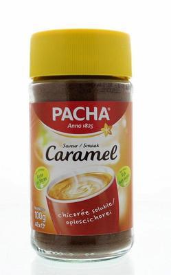 Pacha Caramelkoffie Nat 100g
