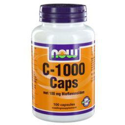 NOW Vitamine C 1000mg bioflavonoiden 100cap
