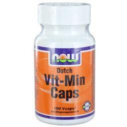 NOW Dutch vit min caps 100cap