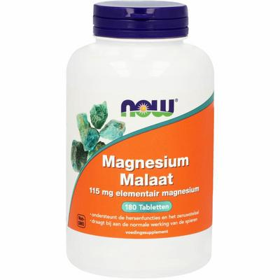 NOW Magnesium Malaat 150 mg 180tab