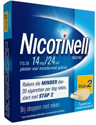 Nicotinell TTS20 14mg 7st