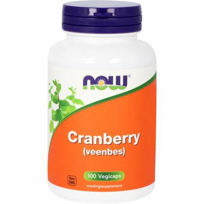 NOW Cranberry (veenbes) 100vc