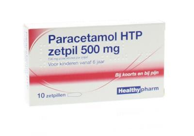 Paracetamol Zetpillen zelfzorg  ConsuMed