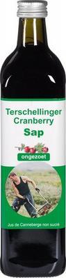 Terschellinger Cranberrysap Ongezoet 750ml