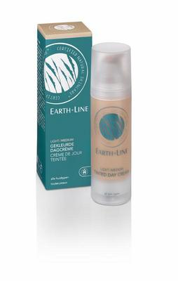 Earth-Line Dagcreme gekleurd naturel beige 35ml