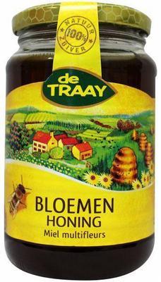 Traay Bloemen honing vloeibaar 450g