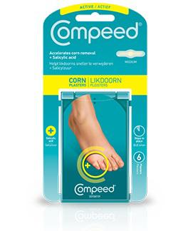 Compeed Likdoornpleisters corn relief 2 in 1 6st