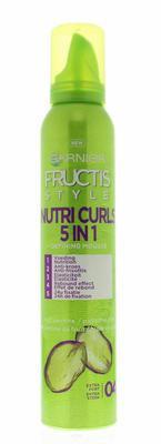 Garnier Fructis Style Mousse Gekruld 200ml
