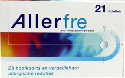 Allerfre Allerfre 10 mg 21tb