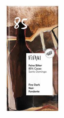 Vivani Chocolade puur 85% bio 100g