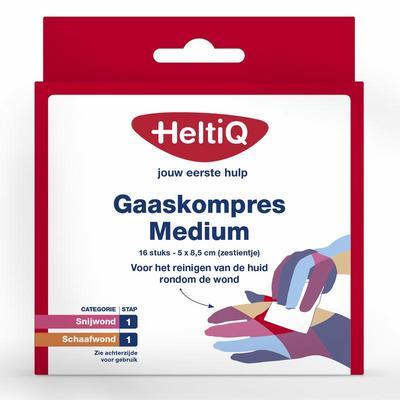 Heltiq Gaaskompres Medium 16stuks