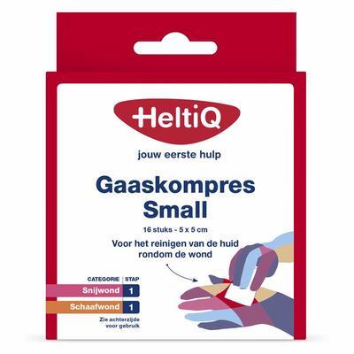 Heltiq Gaaskompres Small 16stuks