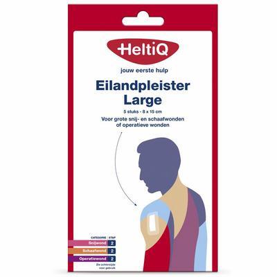 Heltiq Eilandpleisters Large 5stuks