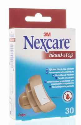 Nexcare Bloed stop assorti 30st