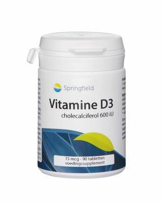 Springfield Vitamine D3 90tab