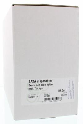 Baxa Baxa exact doseerspuit NL 10 ml 100st