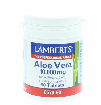 Lamberts Aloe Vera 10000mg 8570-90 90tabl