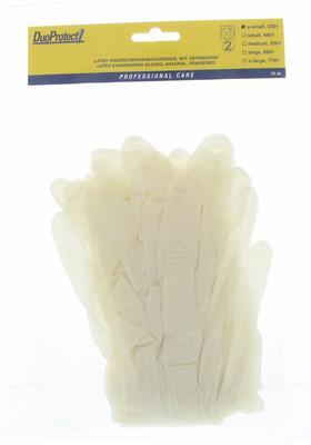 Handschoen latex extra small