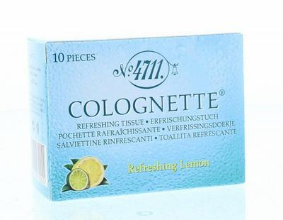 4711 Colognette Tissues Lemon Vrouw 10stuks
