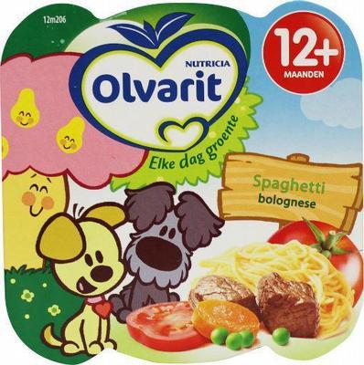 Olvarit 12m206 Spaghetti Bolognese 230g