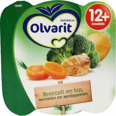 Olvarit 12m201 Broccoli En Kip-w A 230g