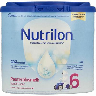 Nutrilon 6 Peutermelkplus melk poeder 400gram