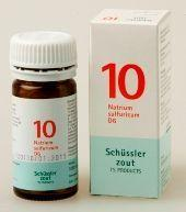 Pfluger Natrium sulfuricum 10 D6 Schussler 100tb