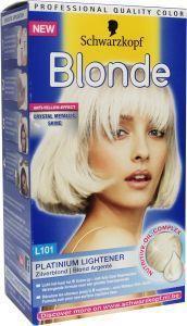 Schwarzkopf poly blonde 101 zilverblond