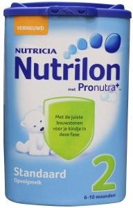 Nutrilon 2 Standaard Zuigelingenvoeding 6-10 Maanden vanaf6mnd 850gram