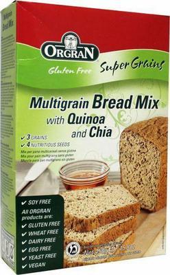 Orgran Breadmix multi grain quinoa chia 450g