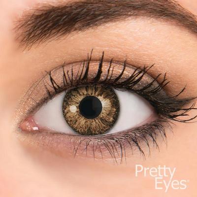 Pretty Eyes Daglens Color Hazel 2stuks