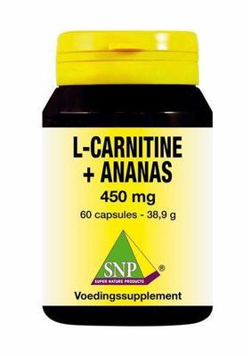SNP L Carnitine ananas 450 mg 60ca