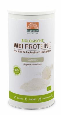 Mattisson Wei proteine naturel bio 80% 450g