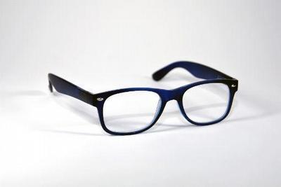 Leesbril blauw mat +1.00