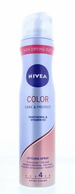 Nivea Hair care styling spray gekleurd haar 250ml