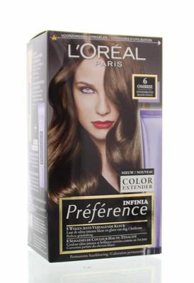 Loreal Preference 6.0 ombrie donker blond 1set