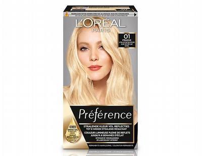 Loreal Preference 01 super licht natuurlijk blond 1set