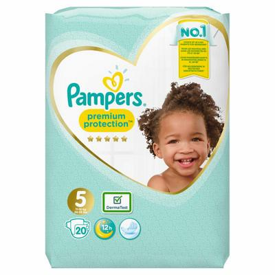 Pampers Luiers Premium Protection Gr.5 Junior 11-23kg