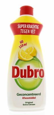 Dubro Afwas extra citroen 550ml