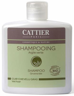 Cattier-paris shampoo groene klei 250ml