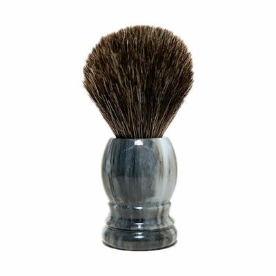 Scheerkwast graudas marker-grijs