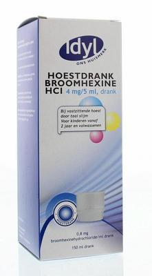 Idyl Huismerk Hoestdrank 4mg-5ml 150ml
