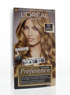 Loreal Preference 02 dark to light blonde 1set