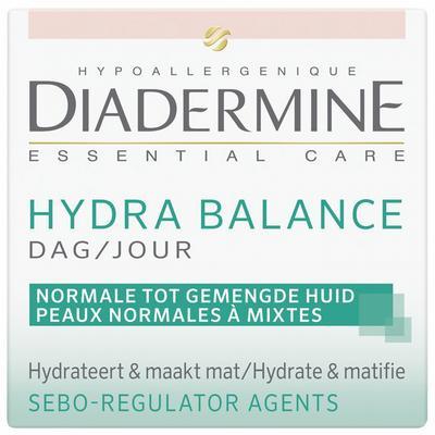 Diadermine Essential care hydra balance dagcreme 50ml