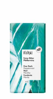 Vivani Chocolade puur pepermunt 100g