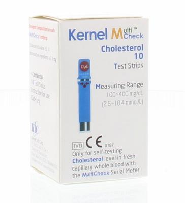 Testjezelf.nu Multicheck cholesterol strips 10st