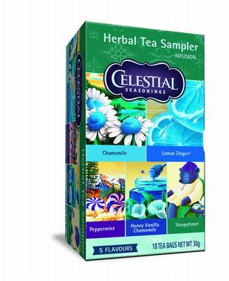 Celestial Seasonings Herb Sampler Tea 18stuks
